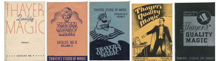 Magic Book Catalog